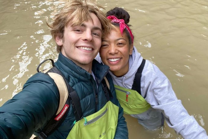 Ross Lynch e Jaz Sinclair