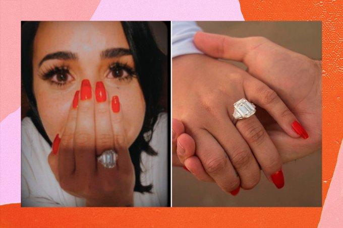 anel-noivado-demi-lovato-fotos