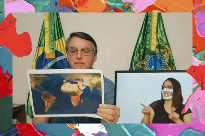 Bolsonaro minimiza desmatamento na Amazônia e culpa indígenas por queimadas
