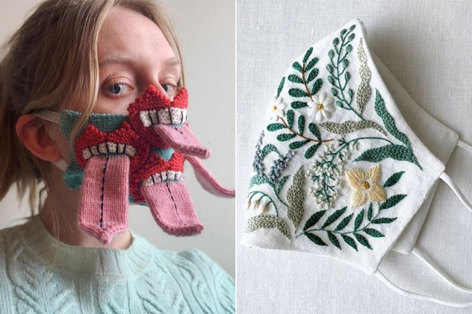 17 máscaras de proteção contra o coronavírus diferentes e inusitadas