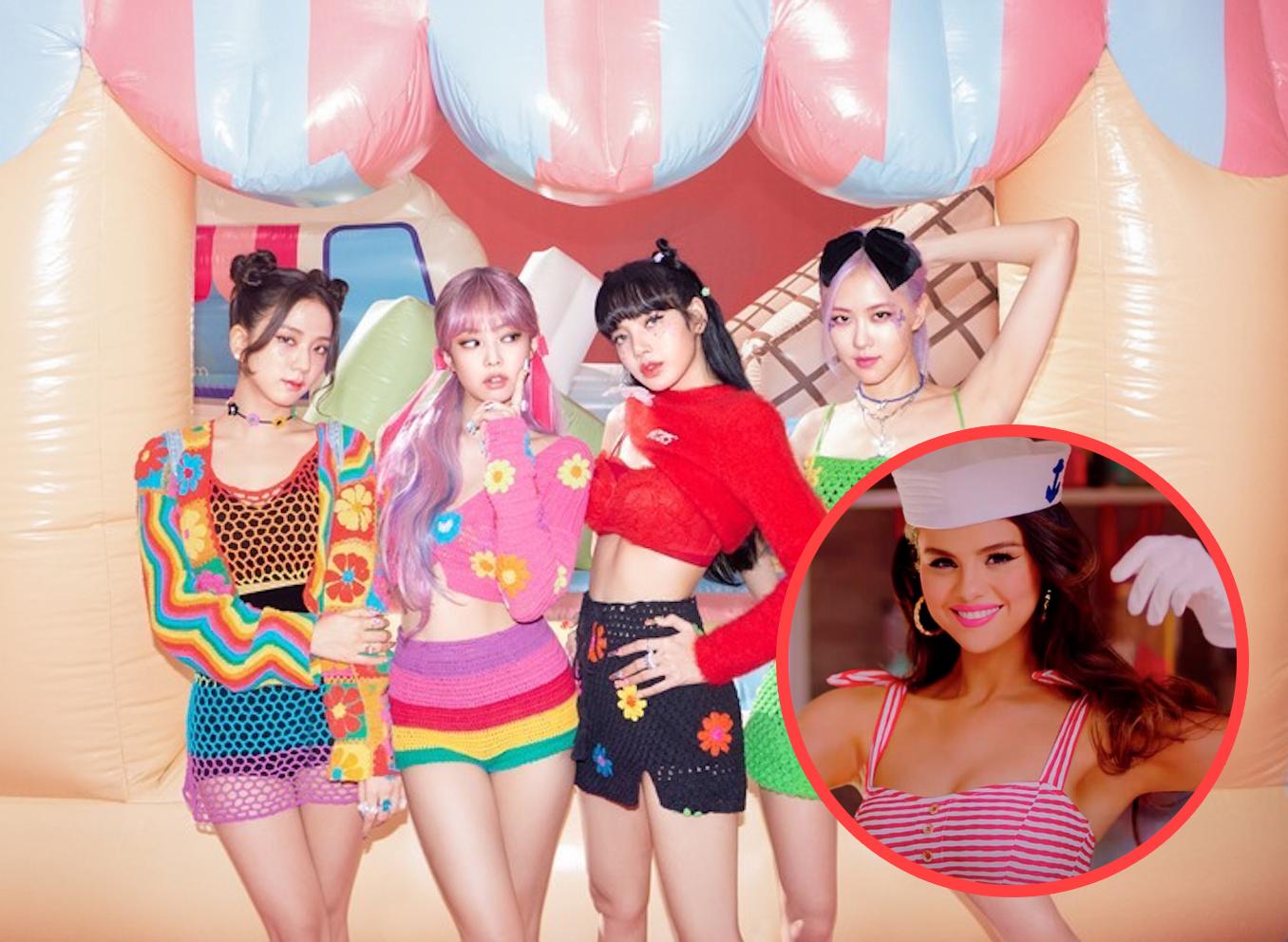 BLACKPINK e Selena Gomez estão prontas para curtir o verão em Ice Cream! |  Capricho