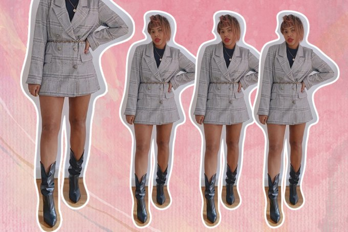Truque de styling casaco sem calça 3