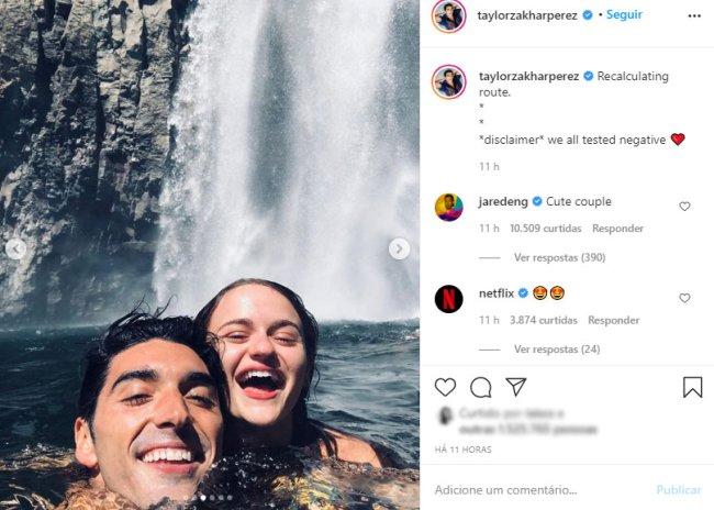 joey-king-Taylor-Zakhar-Perez-viagem