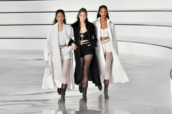 Desfile Chanel outono/inverno 2020/2021