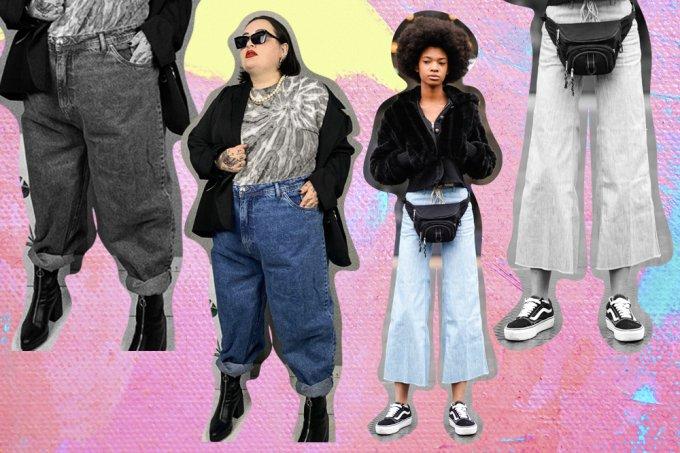 Modelos calça jeans modelagens