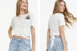 Camiseta com amarração