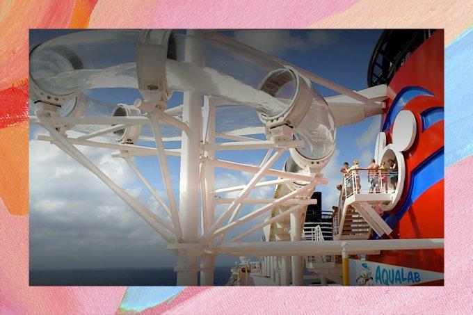 Disney lança primeira montanha-russa aquática em um navio; confira!
