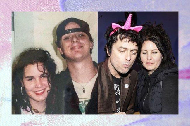 Imagem de Billie e sua esposa