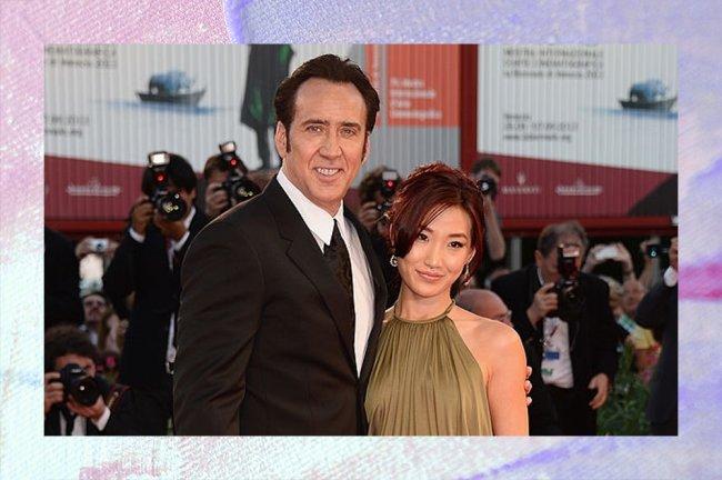 Imagem da ex-esposa de Nicolas Cage