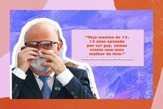 """Ministro da Educação erra termo do português e diz ter """"reservas"""" contra LGBTs"""