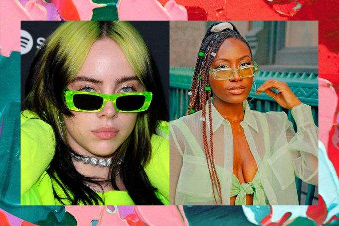 oculos-sol-verdes-retangulares-tendencia-verao