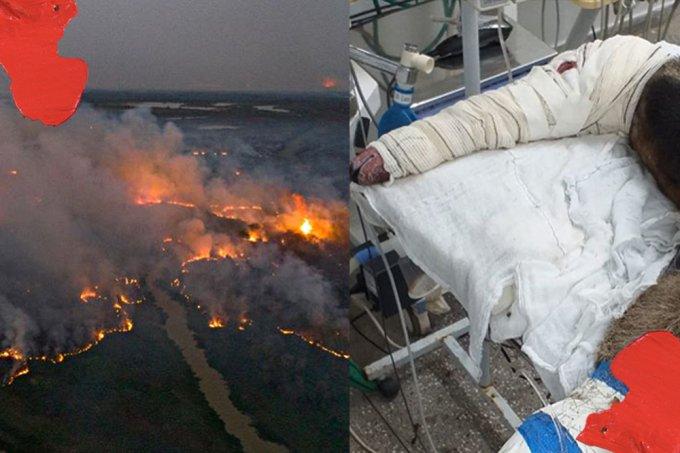 Focos de calor no Pantanal têm alta de 180%; queimadas são as maiores em 23 anos