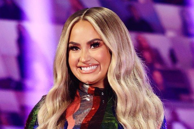 2020 E! People's Choice Awards Demi Lovato