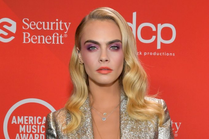 Cara Delevingne American Music Awards 2020