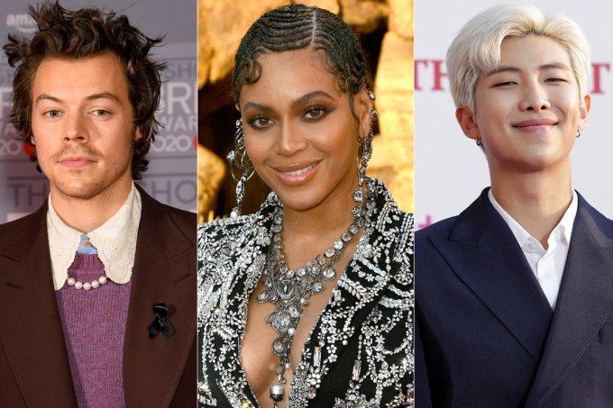 Harry Styles, Beyonce e RM do BTS sao eleitos os famosos mais influentes na moda em 2020