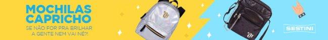 colecao capricho sestini mochila bolsas