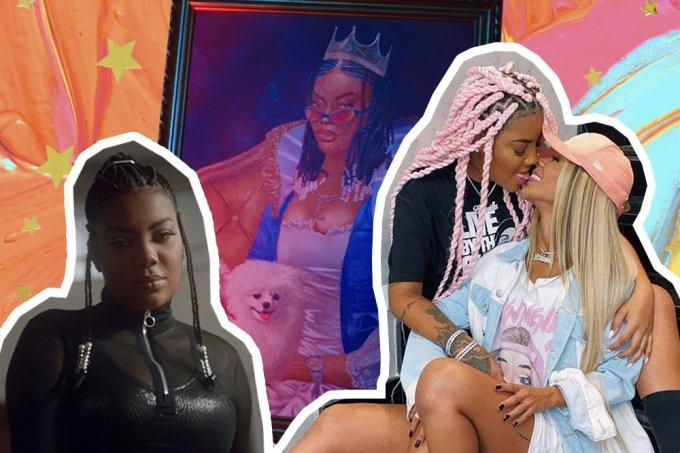 """Negra e lésbica, Ludmilla fala sobre aceitação: """"Encorajada pelos fãs"""""""
