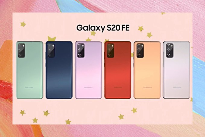 Galaxy S20 FE traz novas cores criadas especialmente para os fãs da marca