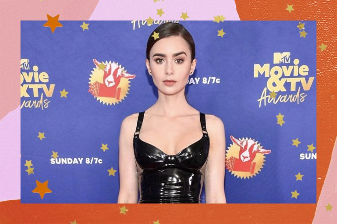 Lily Collins MTV Movie Awards 2020