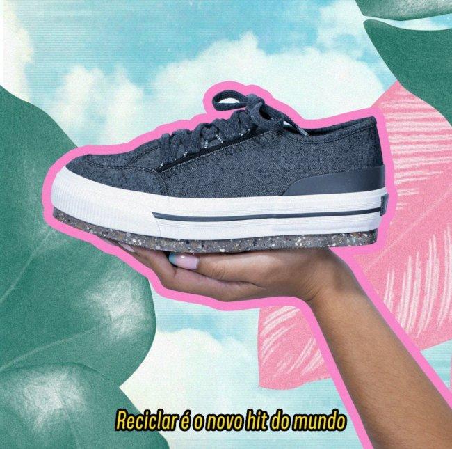 Re-mix, tênis sustentável capricho shoes