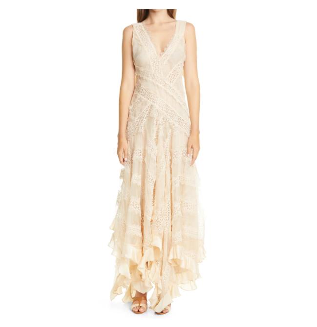 Vestido de noiva usado por Taylor Swift no clipe de Willow