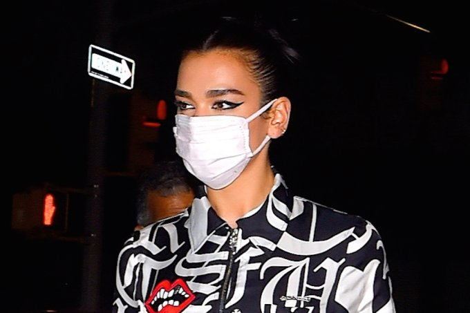 Celebrity Sightings in New York City – October 1, 2020