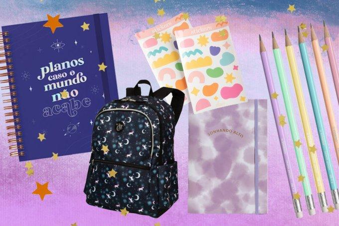 19 itens de material escolar e papelaria para caso o mundo não acabe