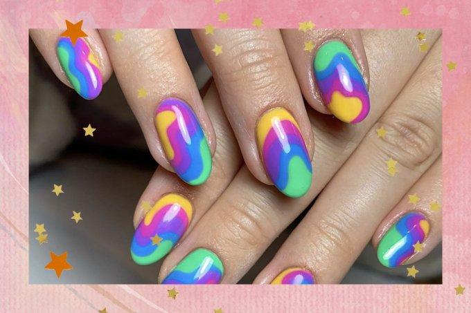 nail arts verao