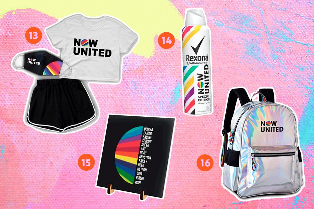 Now United: 20 produtos do grupo para adicionar ao seu look