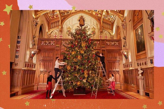 Natal da Rainha: é assim é a decoração natalina do Palácio de Windsor