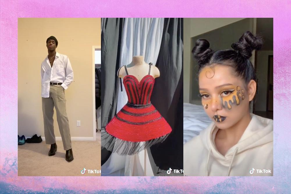 Estas foram as maiores tendências de moda e beleza do TikTok em 2020