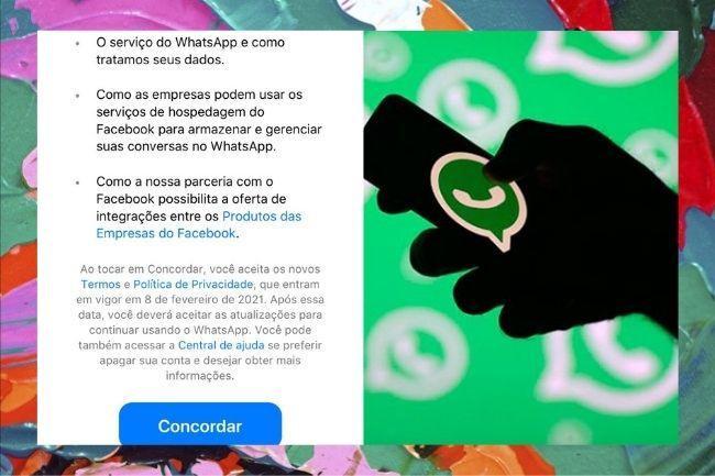 WhatsApp vai excluir conta do usuário que não concordar com novos termos