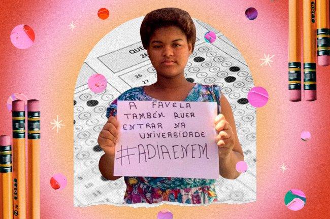 #AdiaEnem: a uma semana da prova, alunos sentem medo, despreparo e revolta