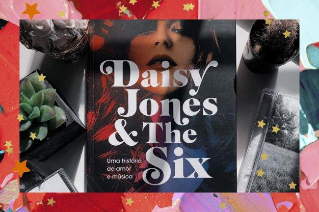 Capa do livro Daisy Jones & The Six