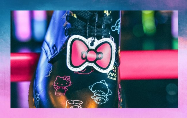 Coleção inspirada na Hello Kitty