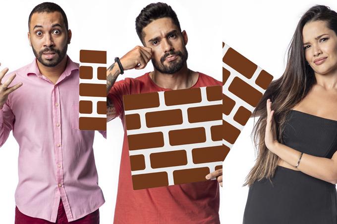 Gilberto, Juliette e Arcrebiano estão no segundo paredão do Big Brother Brasil 21