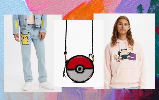 Coleção Pokémon x Levis
