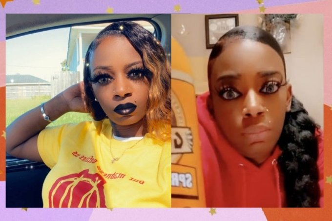 Tessica Brown viralizou na internet ao usar spray de cola nos cabelos
