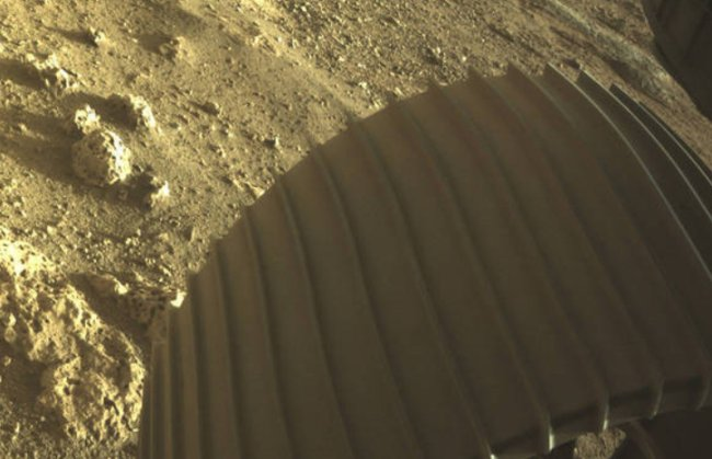 NASA: confira as fotos coloridas que o robô Perseverance está enviando de Marte