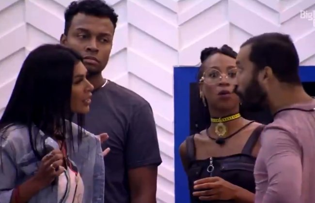 BBB21: Gil e Pocah batem boca e Lumena volta a perseguir e zoar Carla Diaz