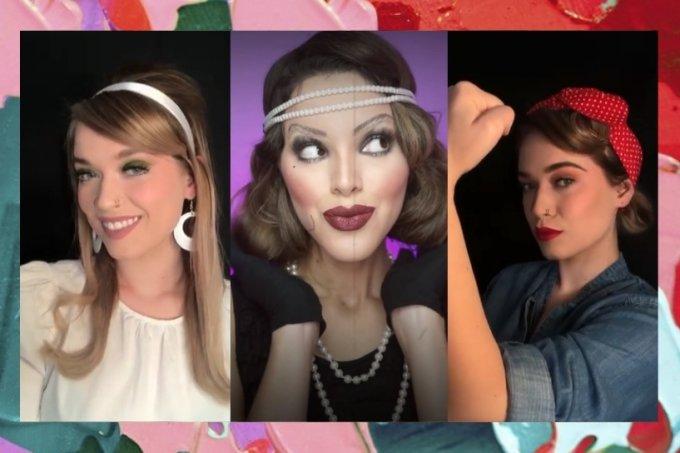 Mudanças na maquiagem no decorrer das décadas
