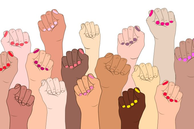 mulheres unidas e poderosas