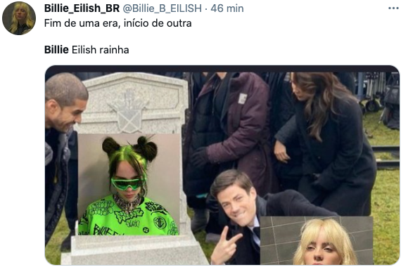 Internautas reagem a mudança de visual da Billie Eilish