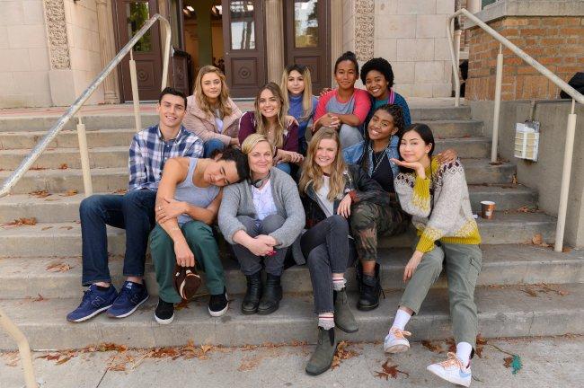 Bradley, Kaitlynn, Seth, Lisa/Director/Producer, Emma, CJ, Vivian, Kiera, Anjelika Washington as Amaya, Lucy, Claudia em Moxie