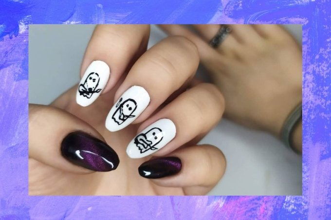 Nail art Julie and the Phantoms