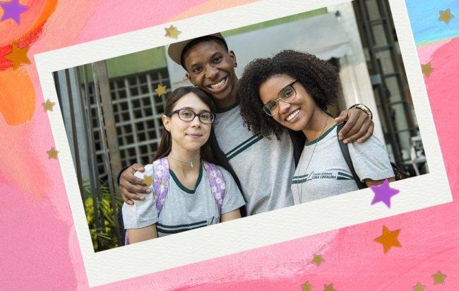 Uniforme escolar brasileiro representado na novela Malhação