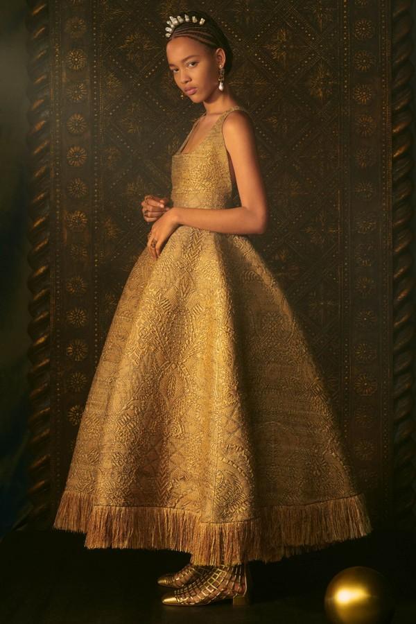 Vestido Dior Coleção Primavera 2021