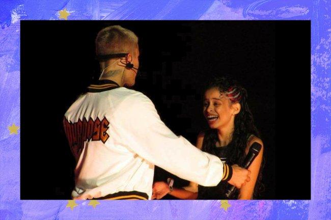 Há quatro anos, o Justin Bieber me convidou para dançar na Purpose Tour