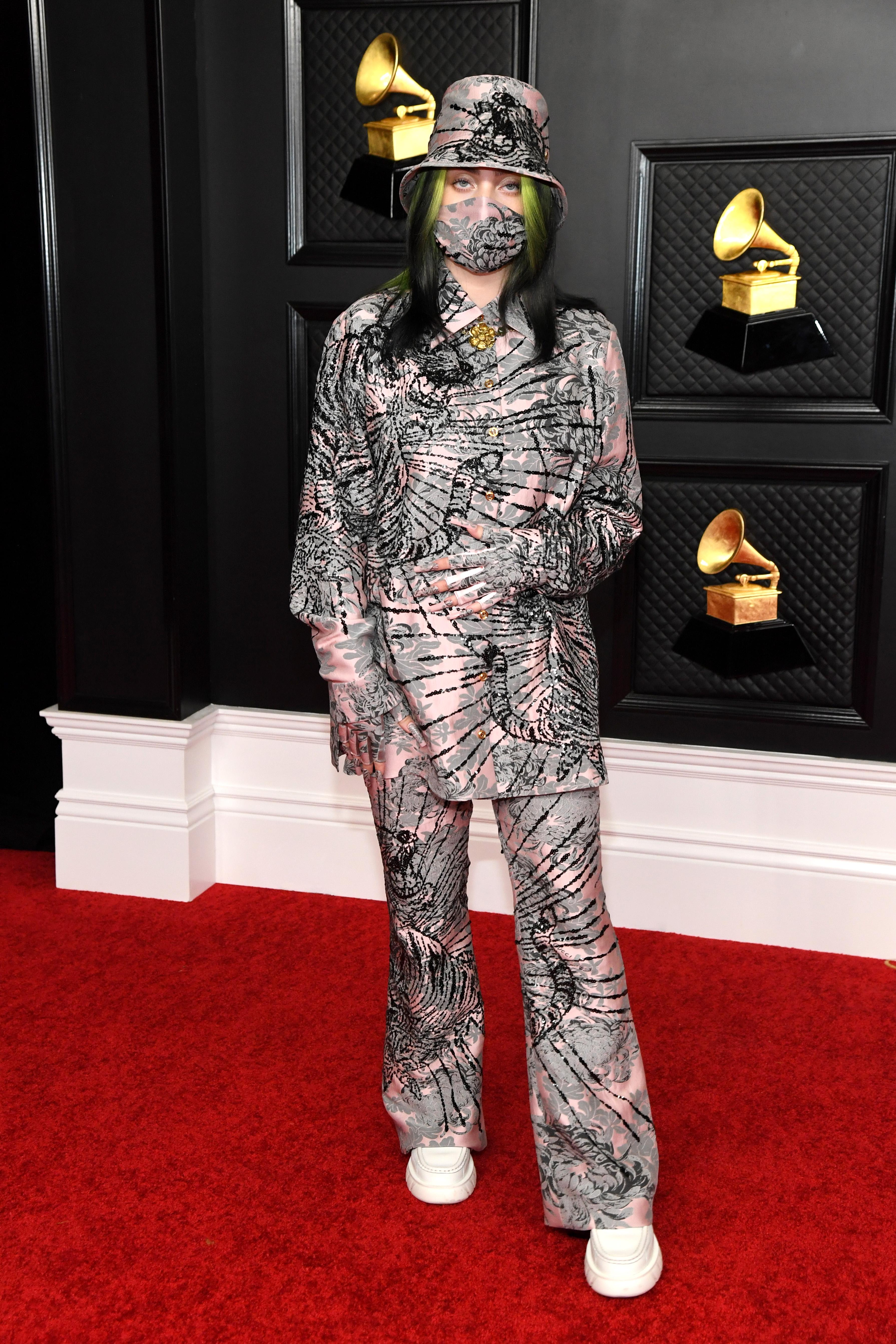 Billie Eilish no Grammy 2021