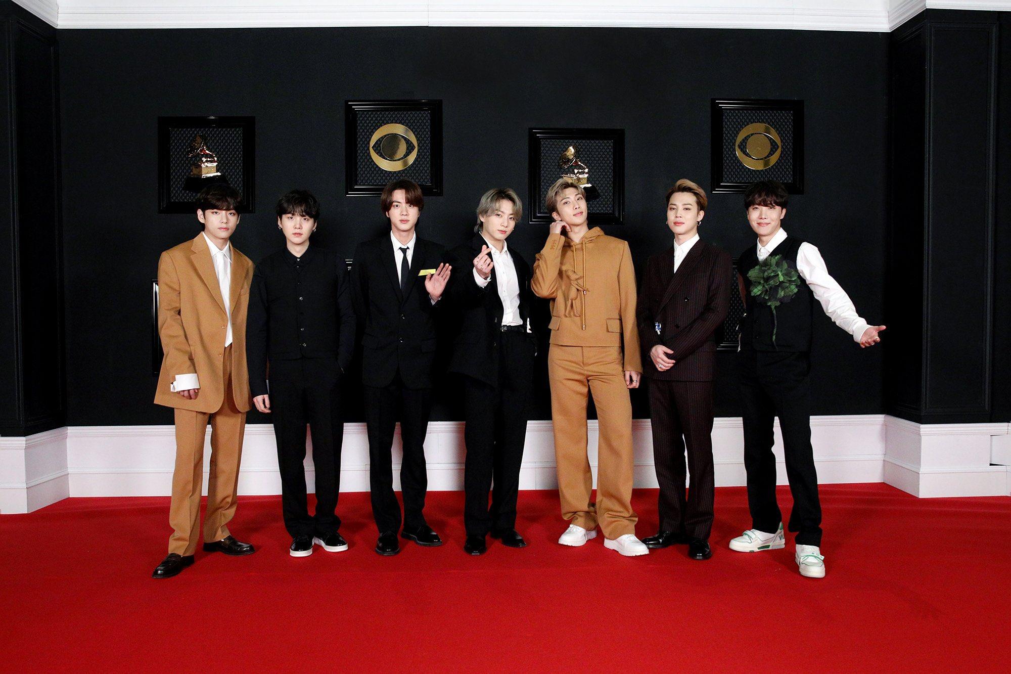 BTS no Grammy 2021